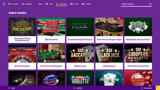 Yako Casino desktop screenshot-2