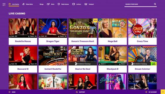Yako Casino desktop screenshot-3