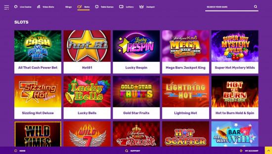 Yako Casino desktop screenshot-4