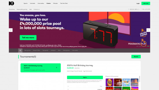 10bet desktop screenshot-4