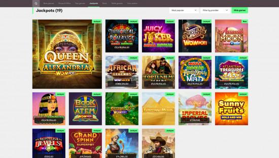 10bet Casino desktop screenshot-3